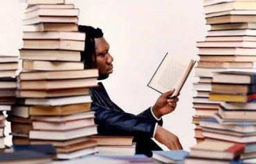 KRS One Reading A Book